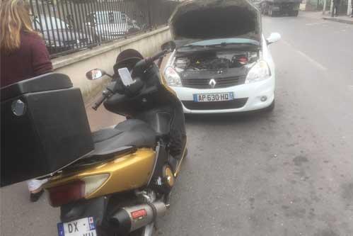 Dépannage moto sur Paris et la région parisienne