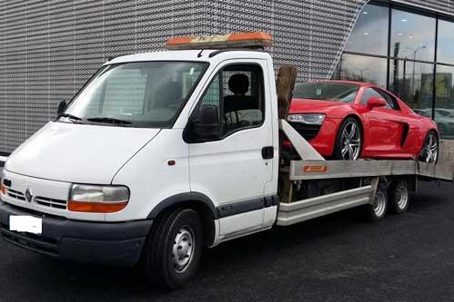 Remorquer auto de luxe - Paris IDF