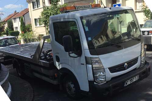 Transport de véhicules de moins de 3 tonnes - Paris