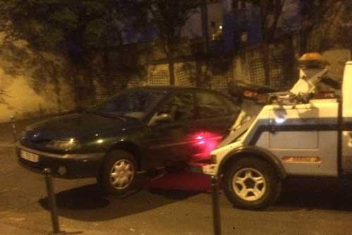 Prix remorquage voiture immobilisée sur Paris