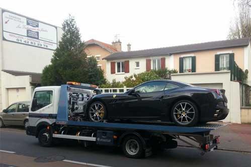Remorquage auto en panne à Paris